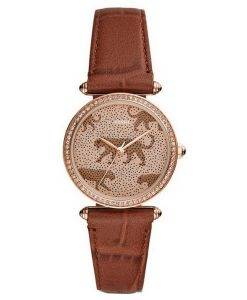Fossil Lyric ES4683 Diamond Accents Quarz Damenuhr