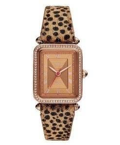 Fossil Lyric ES4684 Diamond Accents Quarz Damenuhr