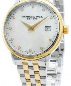 Raymond Weil Geneve Toccata 5988-STP-97081 Diamant Akzente Quarz Damenuhr