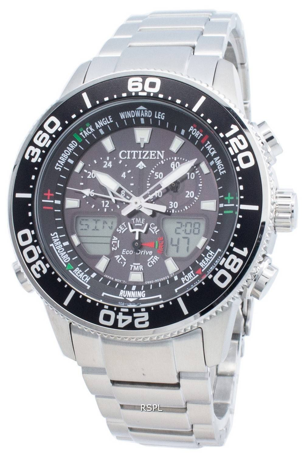 Citizen PROMASTER Marine Eco-Drive JR4060-88E Chronograph 200M Herrenuhr