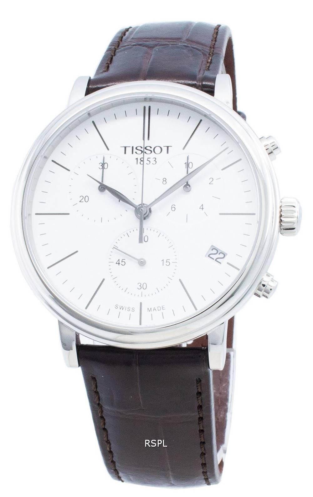 Tissot T-Classic Carson Premium T122.417.16.011.00 T1224171601100 Chronograph Quarz Herrenuhr