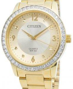 Citizen EL3092-86P Diamond Accents Quartz Damenuhr