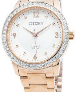 Citizen EL3093-83A Diamond Accents Quartz Damenuhr