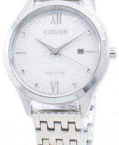 Citizen Eco-Drive EW2530-87A Damenuhr mit Diamantakzenten