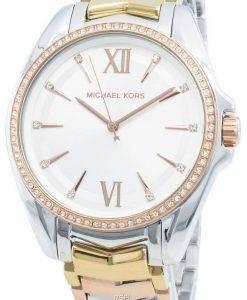 Michael Kors Whitney MK6686 Diamant Akzente Quarz Damenuhr