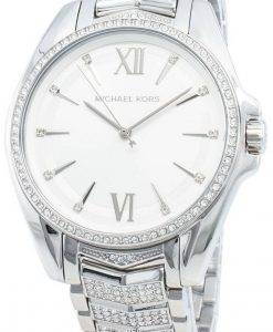 Michael Kors Whitney MK6687 Diamant Akzente Quarz Damenuhr