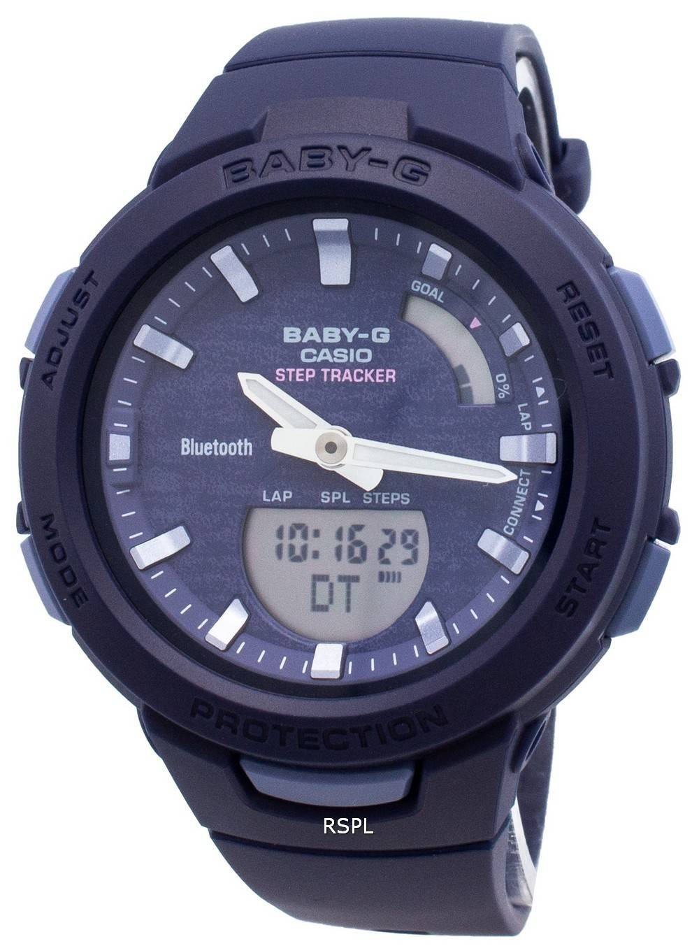 Casio Baby-G Bluetooth BSA-B100AC-2A Schritt Tracker Damenuhr