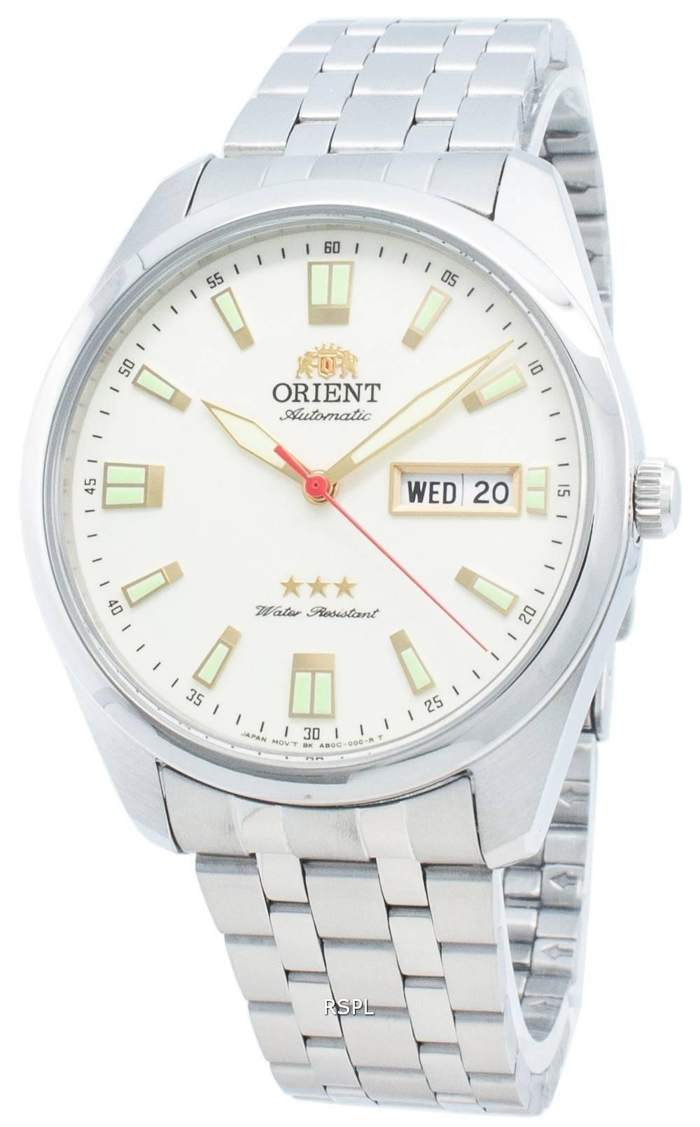 Orient Tri Star RA-AB0020S19B Automatische Unisex-Uhr