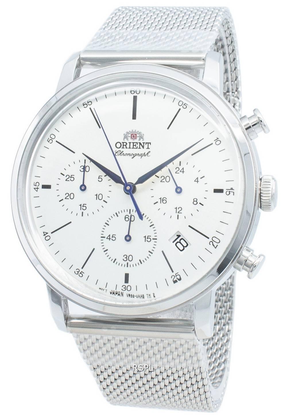 Orient Classic RA-KV0402S10B Chronograph Quarz Herrenuhr