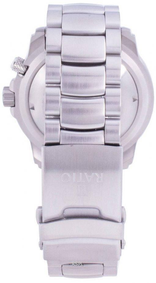 Verhältnis Free Diver Helium-Safe 1000M Saphir Automatik 1068HA96-34VA-ORG Herrenuhr