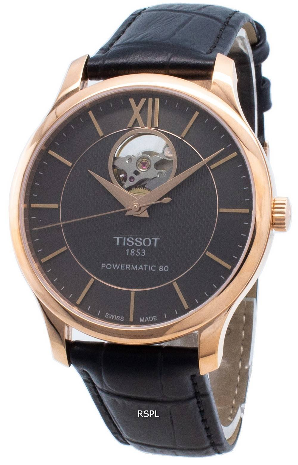 Tissot T-Classic Tradition T063.907.36.068.00 T0639073606800 Open Heart Automatic Herrenuhr
