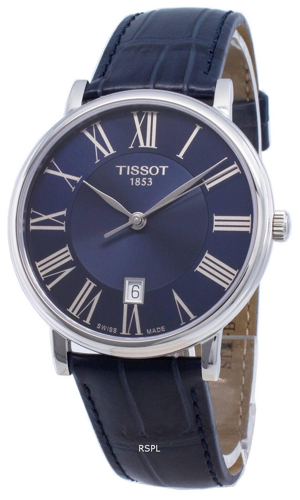 Tissot Carson Premium T122.410.16.043.00 T1224101604300 Quarz Herrenuhr