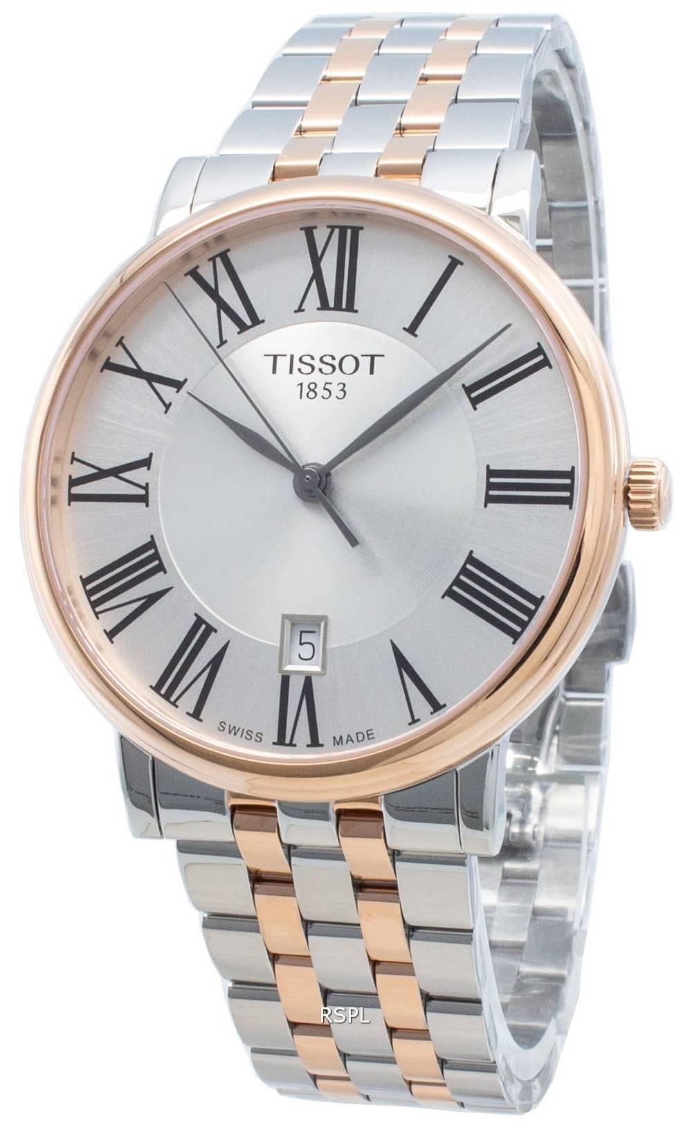 Tissot Carson Premium T122.410.22.033.00 T1224102203300 Quarz Herrenuhr