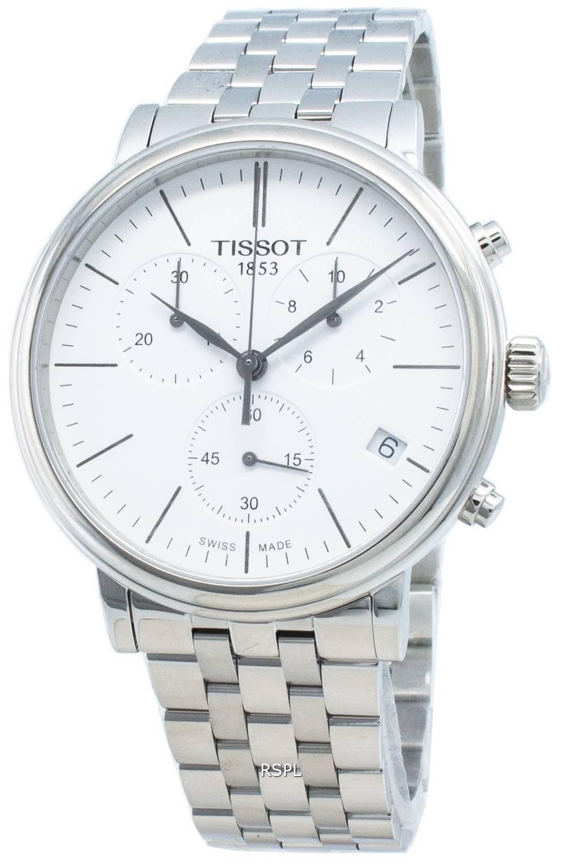 Tissot Carson Premium T122.417.11.011.00 T1224171101100 Chronograph Quarz Herrenuhr