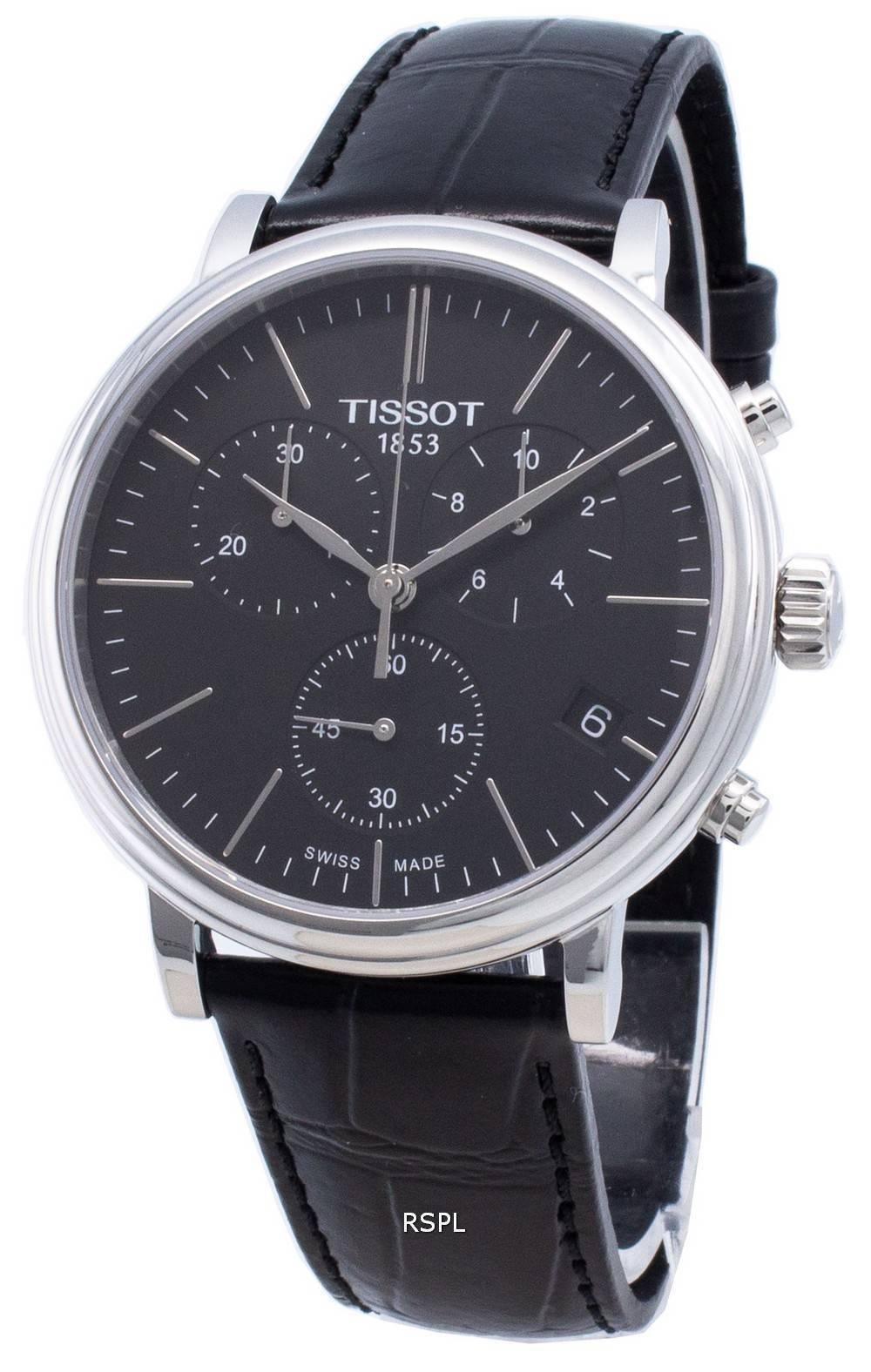 Tissot Carson Premium T122.417.16.051.00 T1224171605100 Chronograph Quarz Herrenuhr