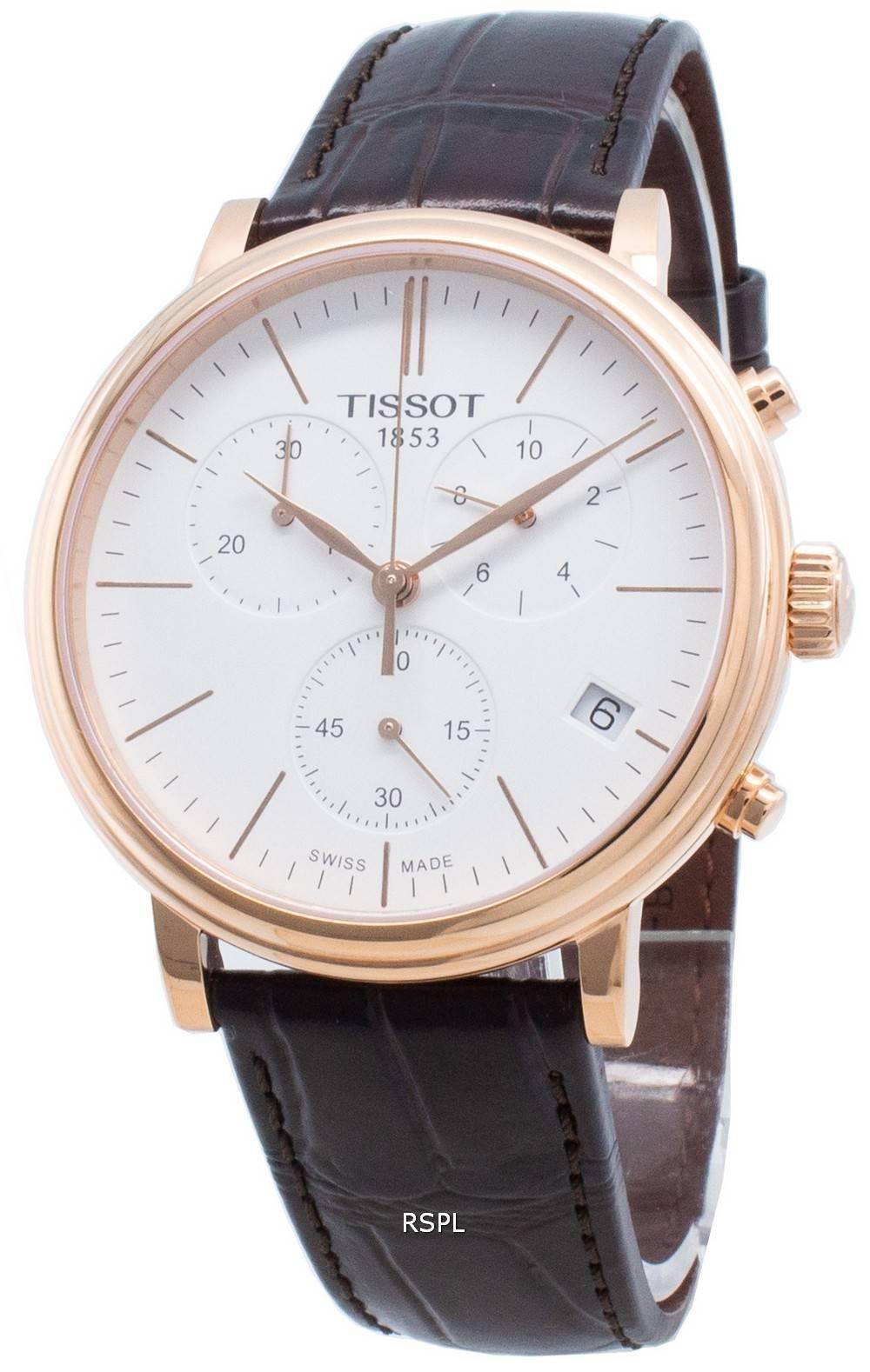 Tissot Carson Premium T122.417.36.011.00 T1224173601100 Chronograph Quarz Herrenuhr