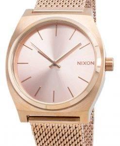 Nixon The Time Teller Milanese A1187-897-00 Quarz Damenuhr