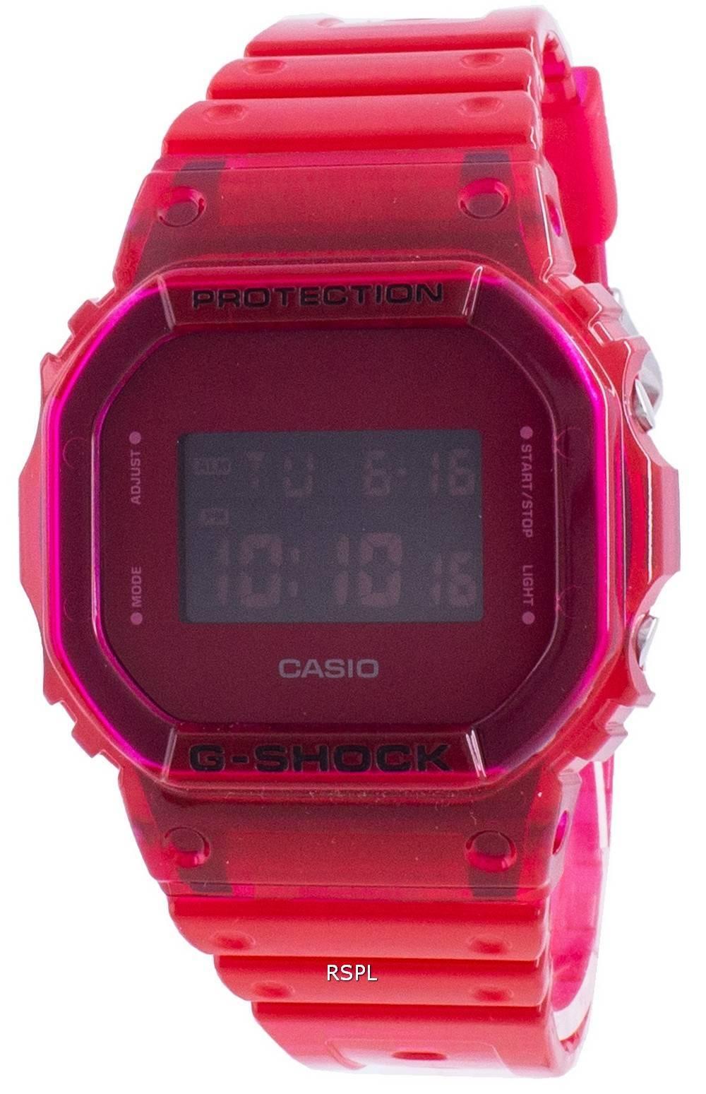 Casio G-Shock DW-5600SB-4 Stoßfeste 200M Herrenuhr