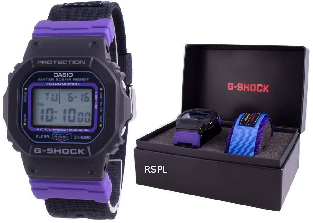 Casio G-Shock DW-5600THS-1 Stoßfeste 200M Herrenuhr