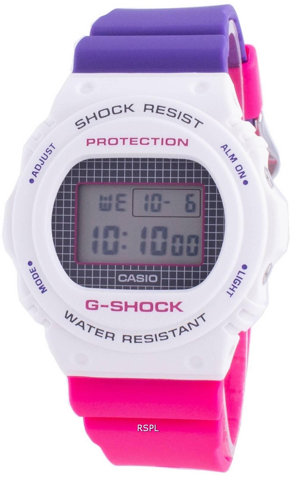 Casio G-Shock Throwback DW-5700THB-7 Quartz Shock Resistant 200M Herrenuhr