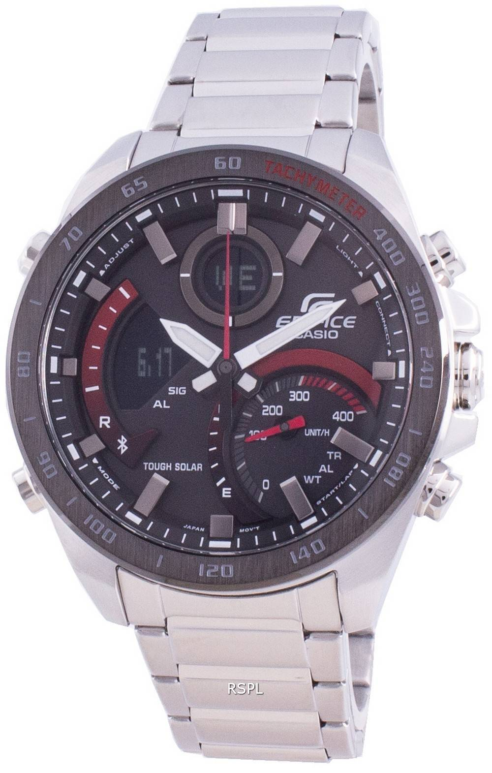 Casio Edifice ECB-900DB-1A Tachymeter Herrenuhr