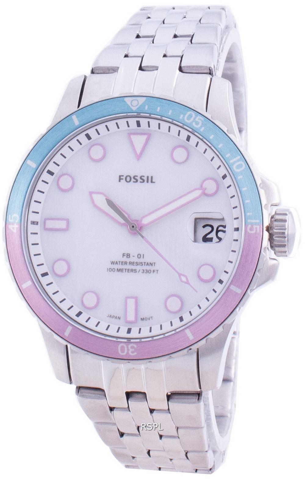 Fossile FB-01 ES4741 Quarz Damenuhr