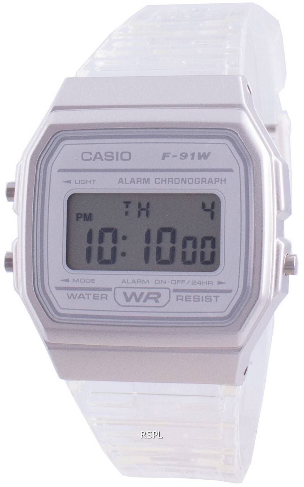 Casio Youth F-91WS-7 Quarz Damenuhr