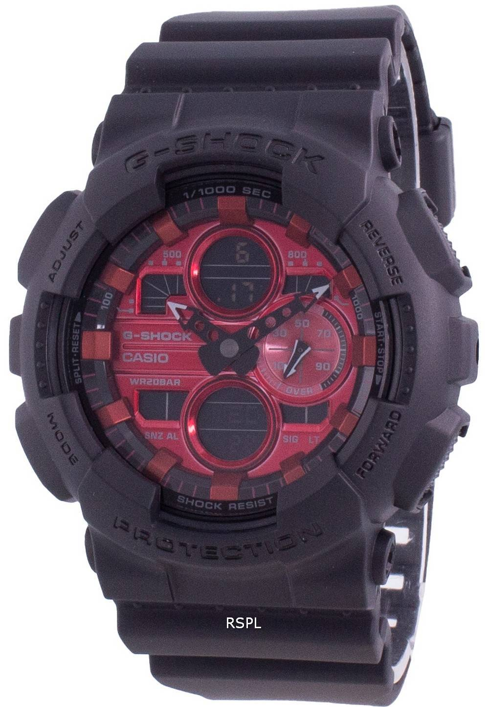 Casio G-Shock GA-140AR-1A Quarz Stoßfeste 200M Herrenuhr