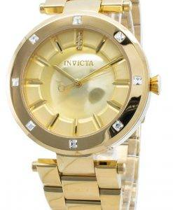 Invicta Angel 23728 Diamant Akzente Quarz Damenuhr
