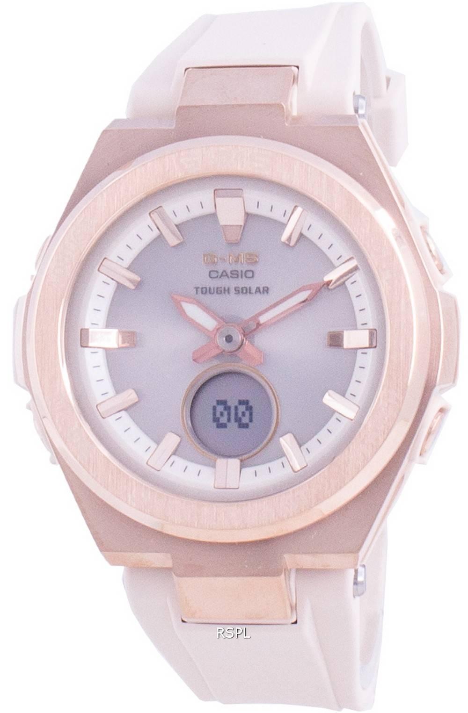 Casio Baby-G G-MS MSG-S200G-4A Sonnenschutzfeste Damenuhr