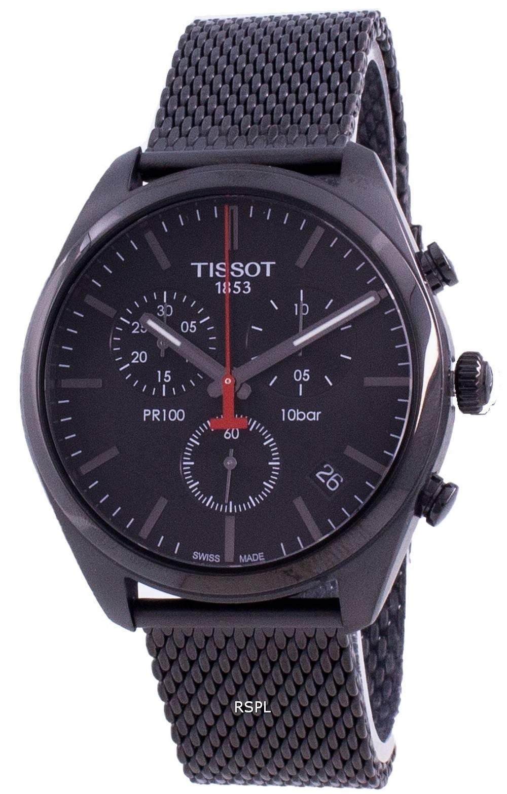 Tissot PR 100 T101.417.33.051.00 T1014173305100 Quarz Chronograph Herrenuhr