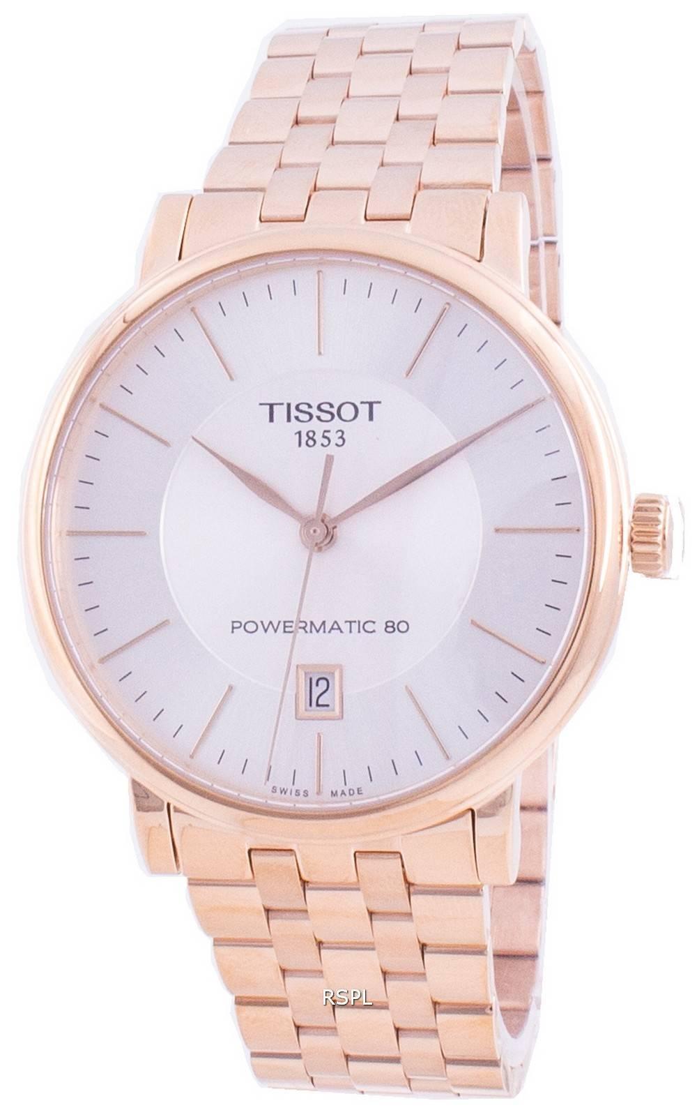 Tissot T-Classic Carson Premium T122.407.33.031.00 T1224073303100 Automatische Herrenuhr
