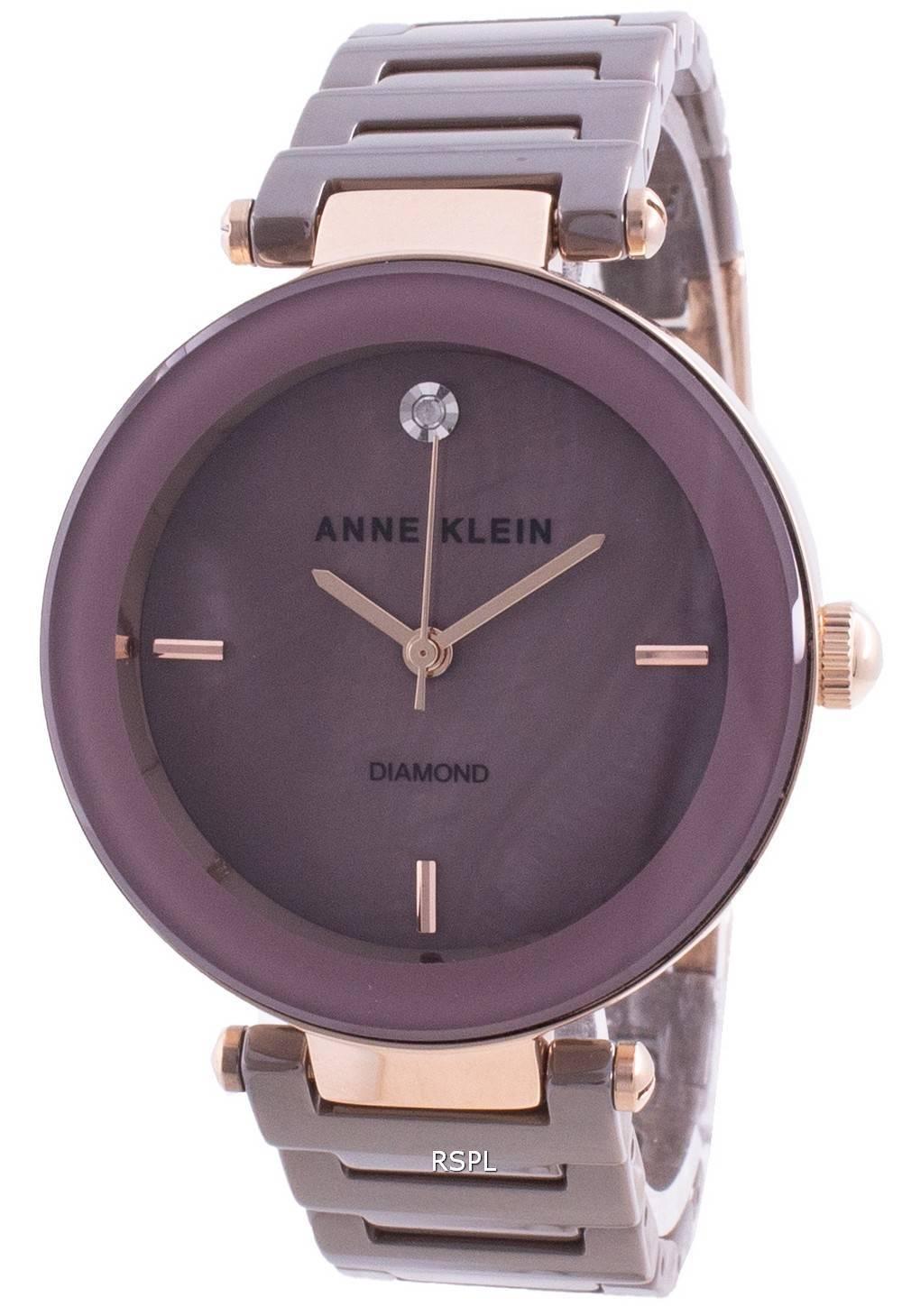 Anne Klein 1018RGMV Quarzdiamant Akzente Damenuhr