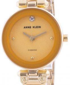 Anne Klein 1980MGGB Quarzdiamant Akzente Damenuhr