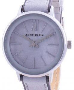 Anne Klein 3447LGGY Quarz Damenuhr