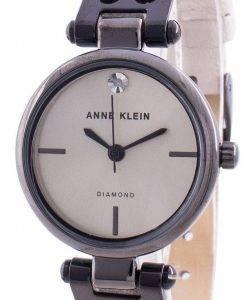 Anne Klein Original Diamond 3513GYCR Quarz Damenuhr