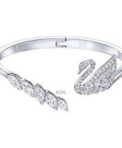 Swarovski 5258396 Swan Lake White - Rhodiniertes Damenarmband