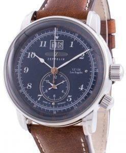 Zeppelin LZ126 Los Angeles 8644-3 86443 Quarzpulsometer Herrenuhr