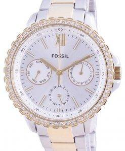 Fossil Izzy Multifunction ES4784 Quartz Chronograph Diamond Accents Women's Watch
