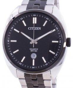 Citizen Black Dial Stainless Steel Quartz BI5098-58E Men's Watch
