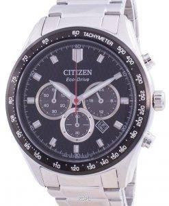 Citizen Black Dial Chronograph Eco-Drive CA4454-89E 100M Men's Watch