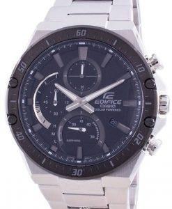 Casio Edifice Solar Powered Chronograph EFS-S560DB-1AV EFSS560DB-1 100M Mens Watch