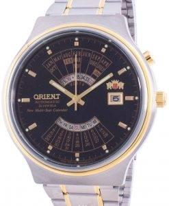 Orient Multi Year Calendar Perpetual World Time Automatic FEU00000BW Men's Watch
