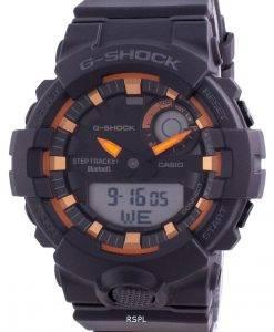 Casio G-Shock Chronograph Schwarzes Zifferblatt Quarz GBA-800SF-1A 200M Herrenuhr