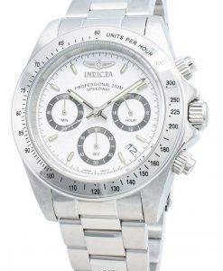 Invicta Speedway 200M Chronograph weisses Ziffernblatt INV9211/9211 Herrenuhr