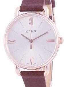 Casio Rose Gold Tone Dial Quarz LTP-E414PL-5A LTPE414PL-5A Damenuhr
