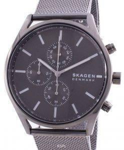 Skagen Holst Chronograph Grey Dial Quartz SKW6608 Men's Watch