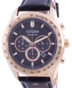 Citizen Eco-Drive Tachymeter CA4453-14E 100M Men's Watch