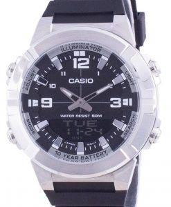 Casio Analog Digital World Time Harzarmband AMW-870-1A AMW870-1 Herrenuhr