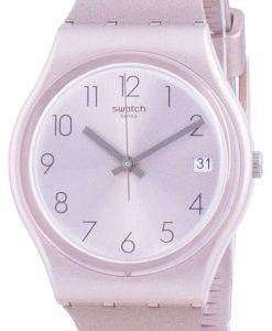Swatch Pinkbaya Rose Gold Tone Dial Quarz GP403 Herrenuhr